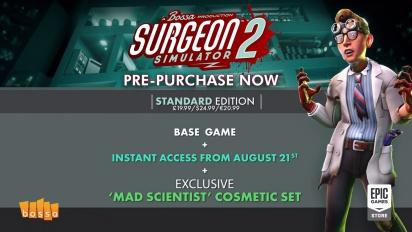 Surgeon Simulator 2 - Surgery Gameplay Trailer