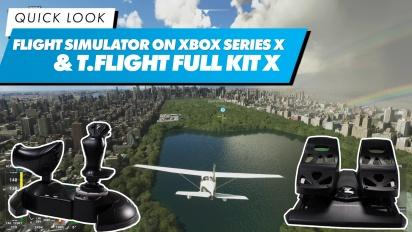 Thrustmaster T.Flight Kit X: Quick Look