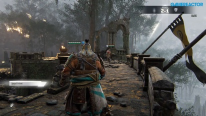 For Honor - Duel Shugoki Peacemaker Raider Gameplay