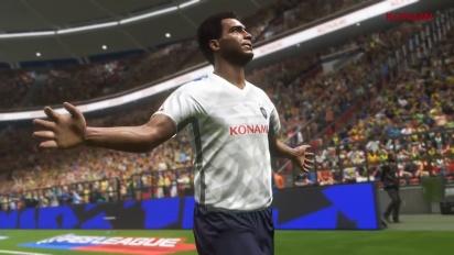 Pro Evolution Soccer 2018 - PES 2018 Romário Trailer