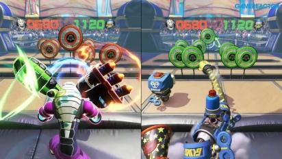 ARMS - Gameplay aus Skillshots-Modus
