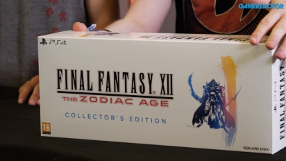 Final Fantasy XII: The Zodiac Age - Wir packen die Collector's Edition aus