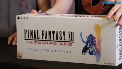 Final Fantasy XII: The Zodiac Age - Wir packen die Collector's Edition aus