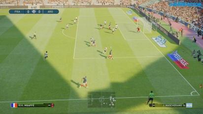 Pro Evolution Soccer 2019 - Gameplay - Komplettes Match - Frankreich gegen Argentinien