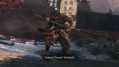 Sekiro: Shadows Die Twice - General Tenzen Yamauchi