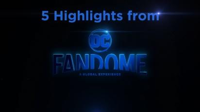 Fünf Highlights vom DC Fandome 2020