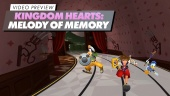 Kingdom Hearts: Melody of Memory - Vorschauvideo