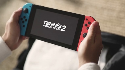 Tennis World Tour 2 - Switch Launch Trailer