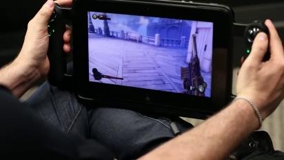 Razer Edge - Bioshock Infinite 1999 Mode on Ultra Settings