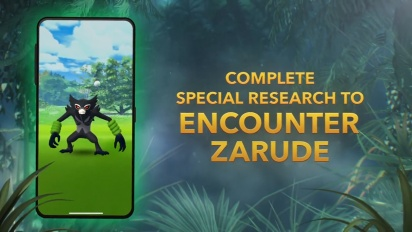The Mythical Pokémon Zarude debuts in Pokémon GO