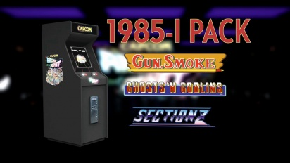 Capcom Arcade Cabinet - 1985 Pack Trailer