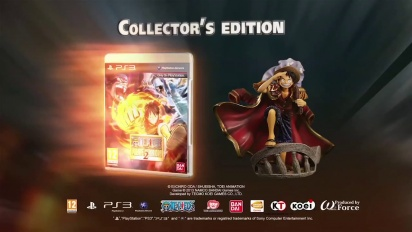 One Piece: Pirate Warriors 2 - A One of a Kind Collector's Edition Trailer