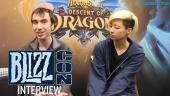 Hearthstone: Erbe der Drachen - Interview mit Peter Whalen und Sarah Chen (Blizzcon 2019)