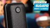 Elgato Wave 1 & Wave 2: Quick Look
