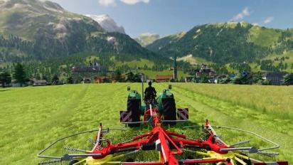 Landwirtschafts-Simulator 19 - Alpine Landwirtschaft DLC Gameplay Trailer