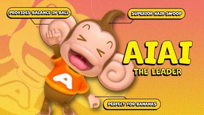 Super Monkey Ball Banana Mania - Meet the Gang Trailer