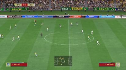 FIFA 22 - Frauenfußball: Brasilien gegen Mexico (Gameplay)