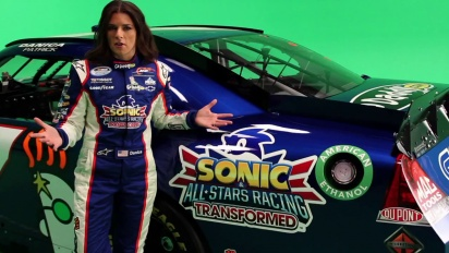 Sonic & All-Stars Racing Transformed - Behind the Scenes with Danica Patrick Trailer