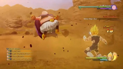 Dragon Ball Z: Kakarot - Vegeta Gameplay Trailer