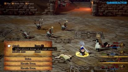 Bravely Default II - Gameplay (Demo)