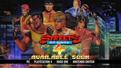 Streets of Rage 4 - Retro Reveal