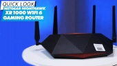 Netgear Nighthawk XR1000 Wi-Fi 6 (Gaming-Router): Quick Look