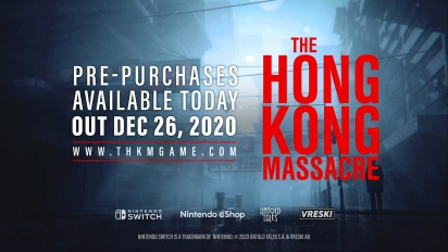 The Hong Kong Massacre - Switch Gameplay + Release Date Trailer
