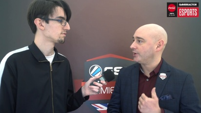 ESL UK Premiership-Finale - Interview mit Matt Andrews
