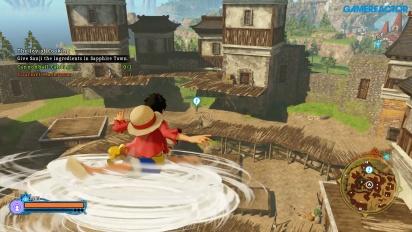 One Piece: World Seeker - Freies Erkunden der Pirates Islands