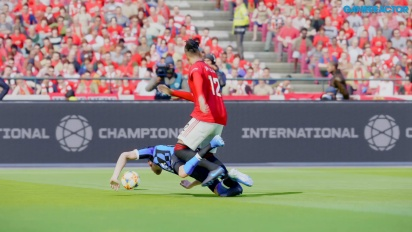 eFootball PES 2020 - Match aus der Master League: Manchester United vs. Inter Milan (Gameplay)