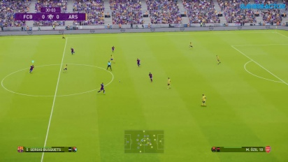eFootball PES 2020 - FC Barcelona vs. Arsenal (Gameplay)