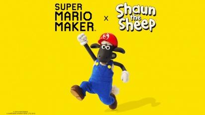 Super Mario Maker - Shaun The Sheep Trailer