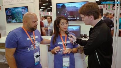 JCB Pioneer Mars - Interview mit Andrew Santos & Maggie Lieu