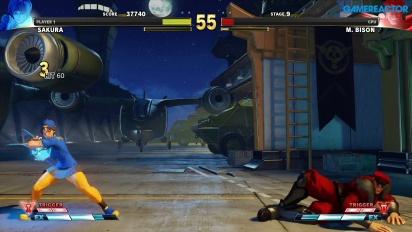 Street Fighter V: Arcade Edition - SF Alpha-Pfad: Sakura vs. Bison