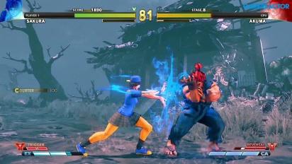 Street Fighter V: Arcade Edition - SF Alpha-Pfad: Sakura vs. Akuma
