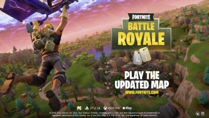 Fortnite Battle Royale - Map Update Trailer