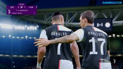 eFootball PES 2020 - Juventus vs. Ajax (Gameplay)