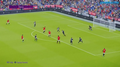 eFootball PES 2020 - Match aus der Master League: Manchester United vs. Juventus (Gameplay)