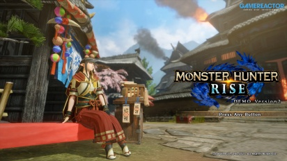 Monster Hunter Rise - Kampf gegen Magnamalo (Demo-Gameplay)
