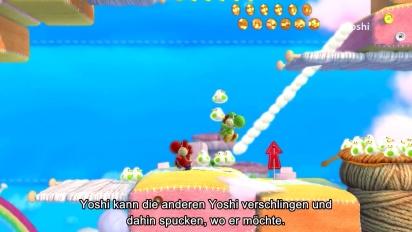 Yoshi's Woolly World - Entwickler-Interview E3 2014 (Deutsch)