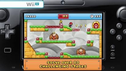 Mario vs Donkey Kong: Tipping Stars Launch Trailer