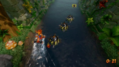 Crash Bandicoot:Insane Trilogy - Hang Eight Level Playthrough