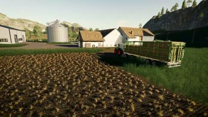 Farming Simulator 19: Straw Harvest - Launch Trailer