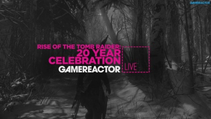RISE OF THE TOMB RAIDER - LIVESTREAM REPLAY