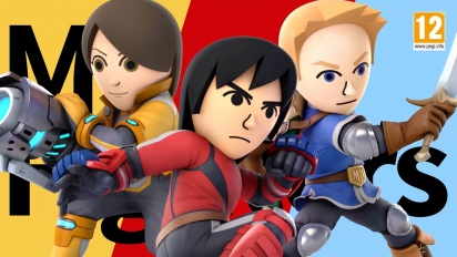 Super Smash Bros. Ultimate - Mii Fighter Costumes #2 Trailer