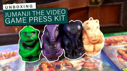 Jumanji: The Video Game - Unboxing des Presse-Kits