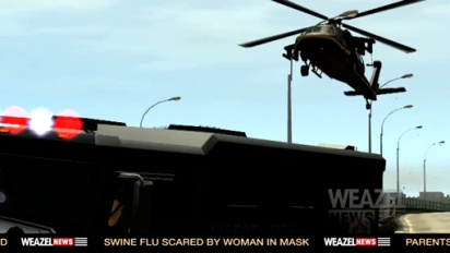 Grand Theft Auto IV: The Ballad of Gay Tony - Weazel News Report Trailer