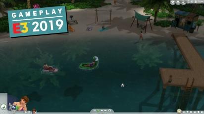 Die Sims 4: Inselleben-Gameplay