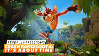 Crash Bandicoot: It's About Time - Vorschau-Eindrücke