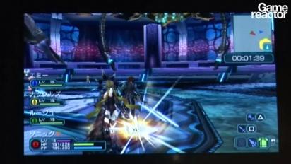 TGS09: Phantasy Star Portable 2 gameplay